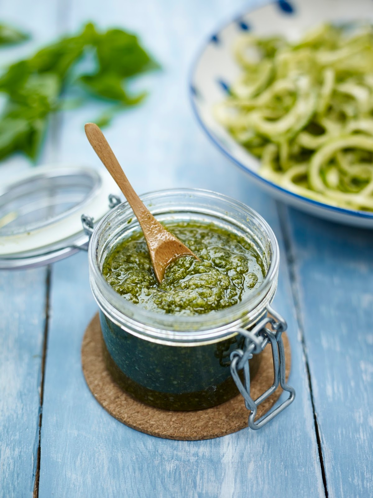 Super Green Pumpkin Pesto: Gluten & Dairy Free, Vegan