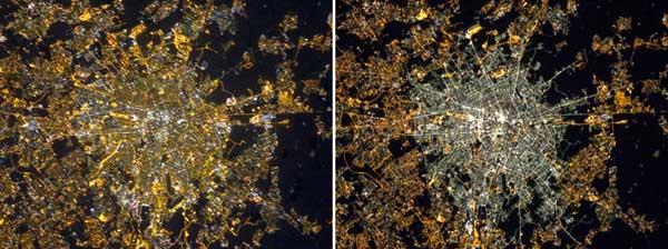 Milão, Itália - mudança de luzes para LED