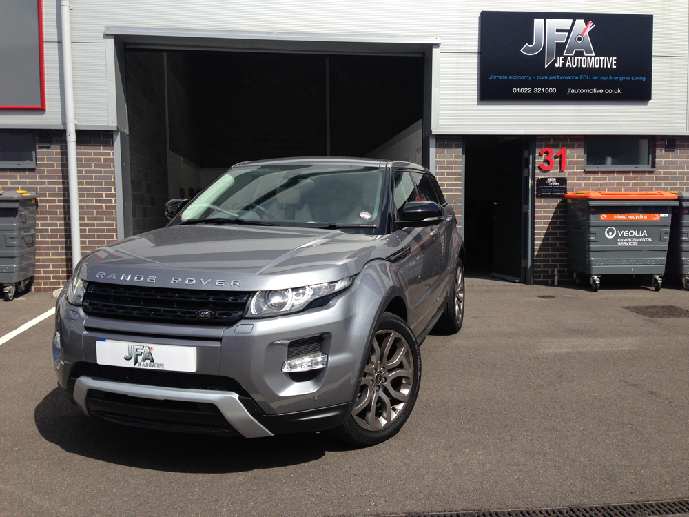 Land Rover Range Rover Evoque ECU Remapping & Tuning | JF