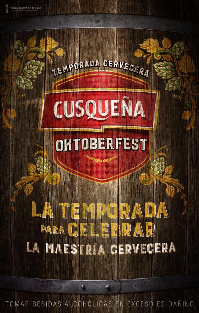 ¡Vuelve Cusqueña Oktoberfest en Arequipa! - 29 de setiembre