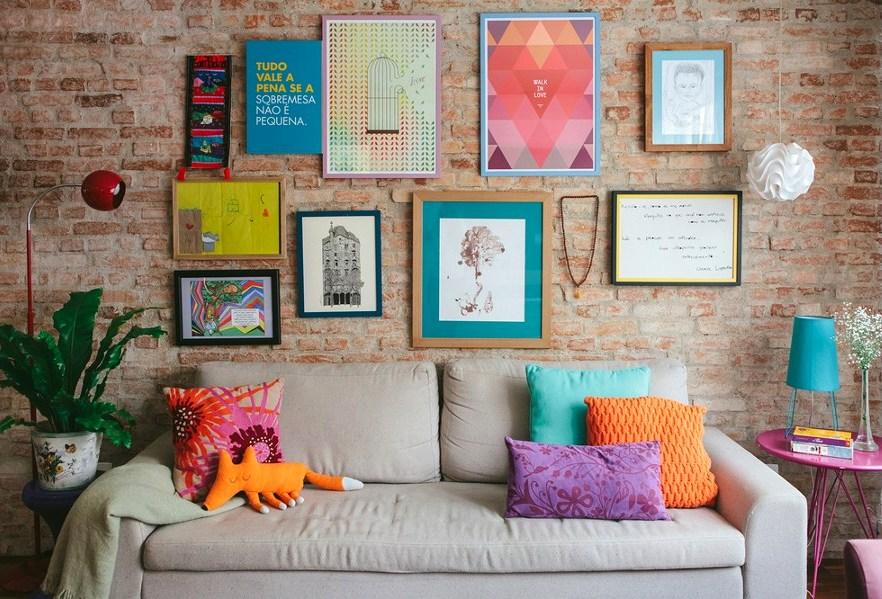 Фотографии на стене дома дизайн