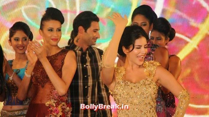 Daniel Weber, Sunny Leone, Sunny Leone, Koena Mitra Hot Pics from  Rohit Verma's Bridal Show