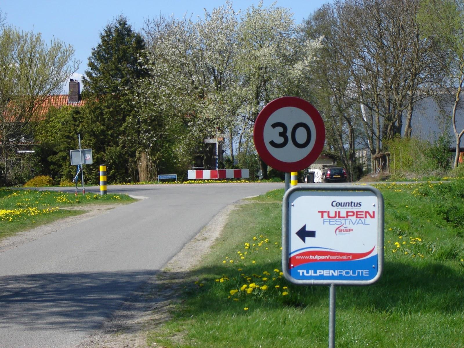 tulpenroute noordoostpolder 2017