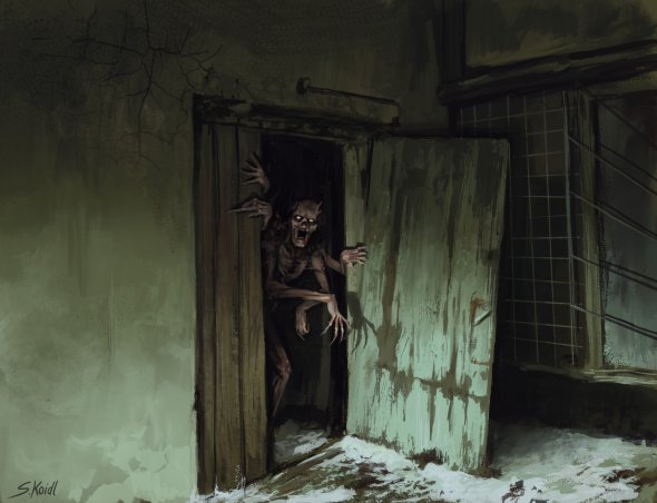 Stefan Koidl artstation arte ilustrações terror horror sombrio chernobil