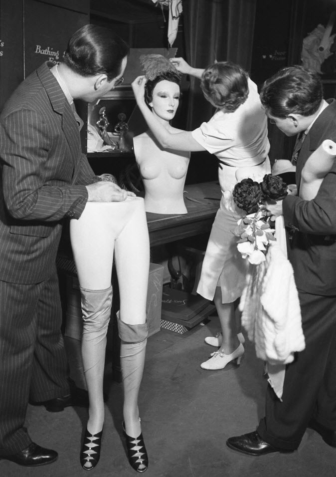 Cynthia, The Celebrity Mannequin