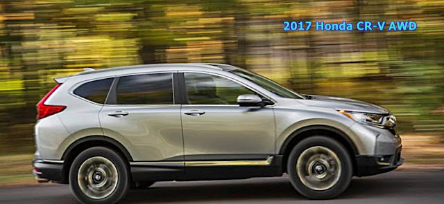 2017 Honda CR-V AWD Specs Price Change Review