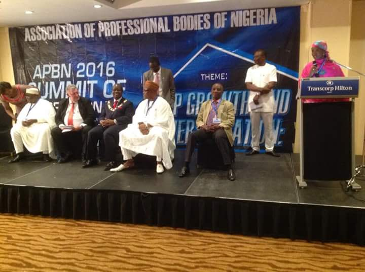 APBN2016 SUMMIT OF PROFESSIONALS: ENGINEEERS WELL REPRESENTED