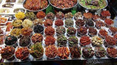 Южная Корея. South Korea разнообразие еды, уличная еда