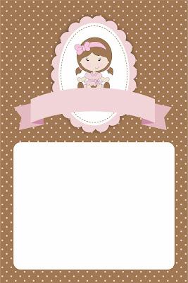 convite boneca pano gratis