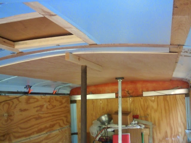 Incargonito: Installing a Trailer Ceiling