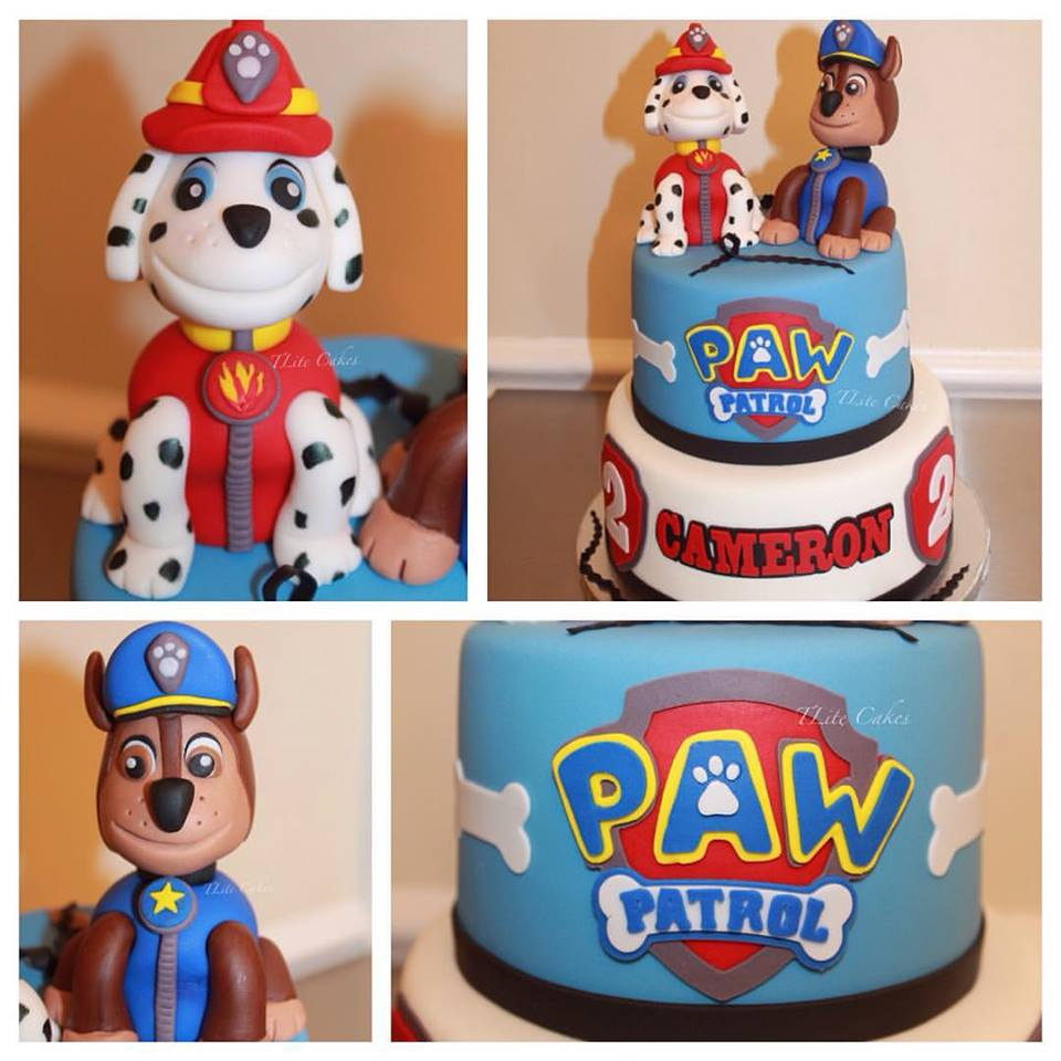 Paw Patrol Cake Marshall And Chase