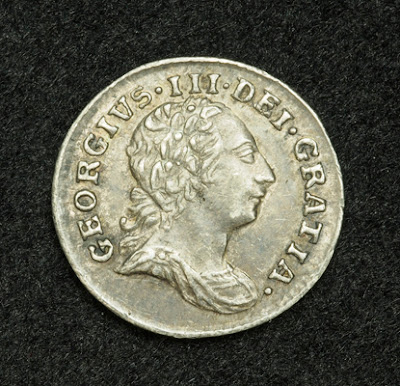 British coins Silver Penny Coin of King George III Coins of the UK