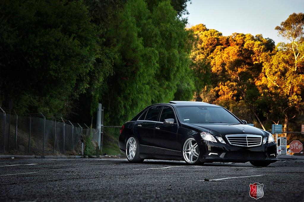 W E Mercedes Black