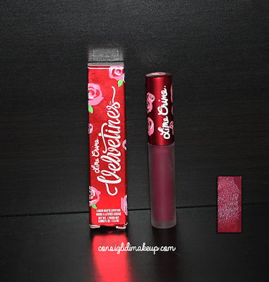 Review: Velvetines Matte Lipstick  in Beet It - Lime Crime