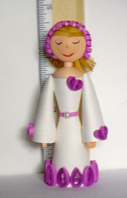 handmade quilling doll designs 2016 - quillingpaperdesigns