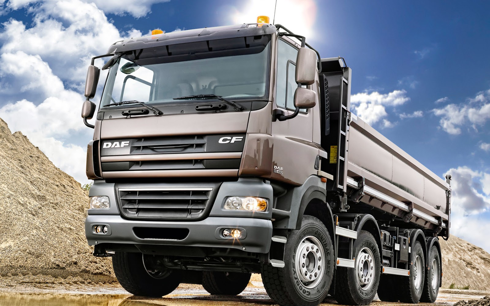 HD Car Wallpapers: Dump Truck Wallpapers