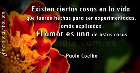 Citas de amor –  Paulo Coelho