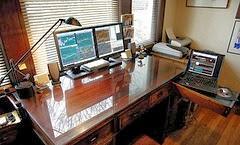 Menata Ruang Kerja Trader Forex Rumahan: Rumah Sempit - Pikiran Trader