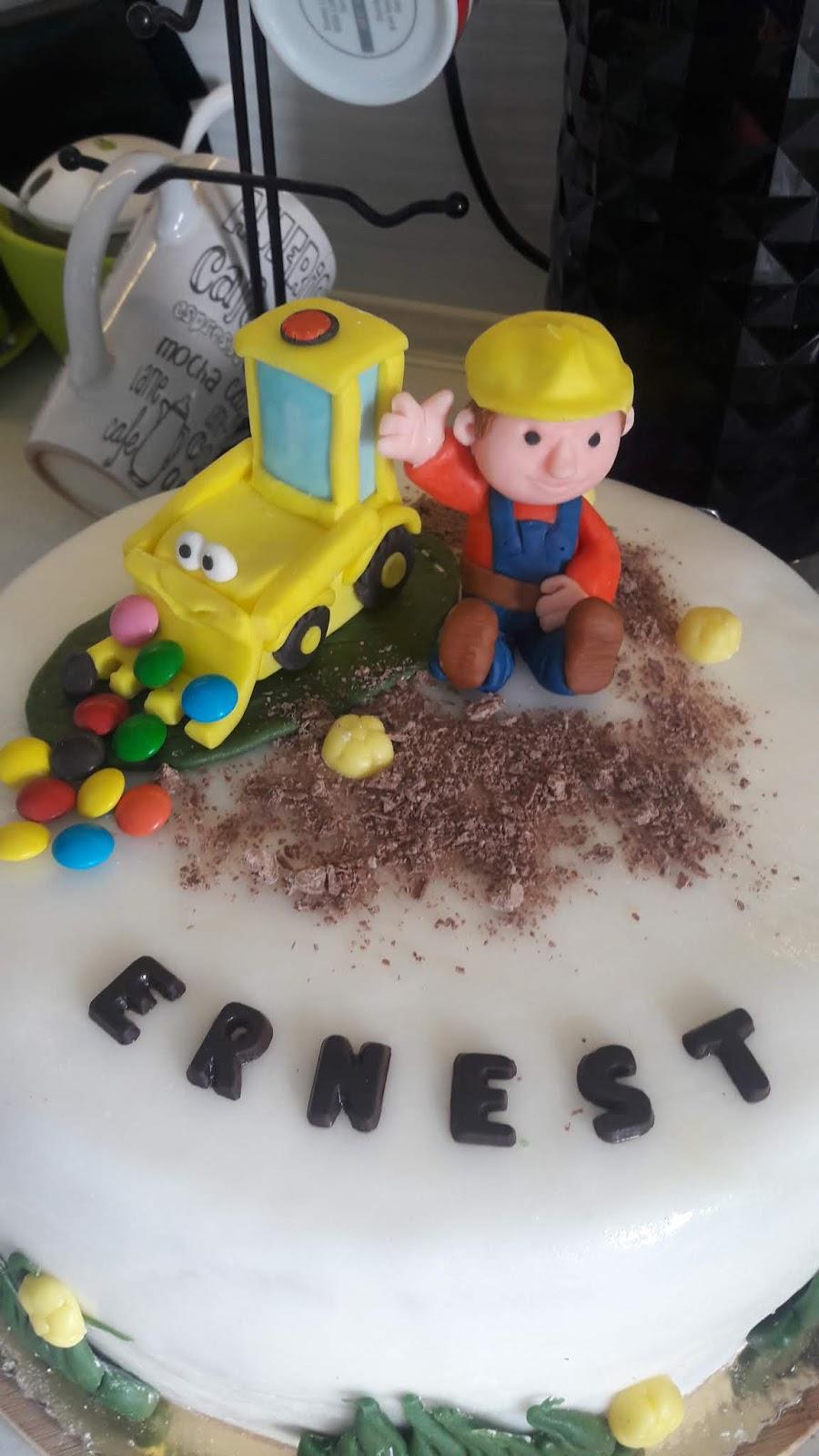 3 urodziny ernesta - tort urodzinowy własnej produkcji