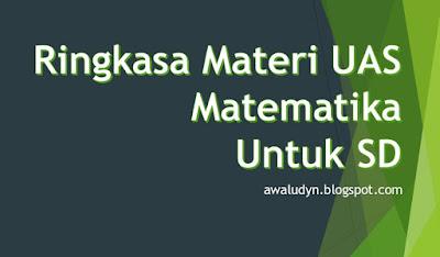 Download Ringkasan Materi UAS Matematika Untuk SD Lengkap