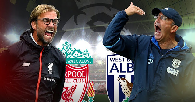 FA Cup Fourth Round Tie Between Liverpool And West Brom At Anfield