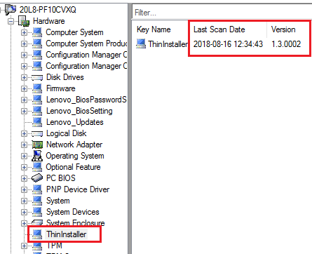 Tracking ThinInstaller Update History With ConfigMgr Current Branch
