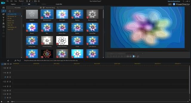 تحميل برنامج تحرير الفيديو 2018 للكمبيوتر - CyberLink PowerDirector مجانا