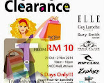 Wah Chan 1 Utama Renovation Clearance Sale: 1-25 NOV 2012