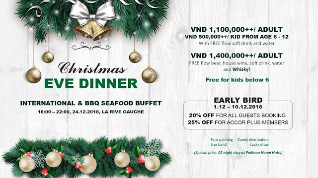 CHRISTMAS EVE DINNER BUFFET - GRAND MERCURE DANANG