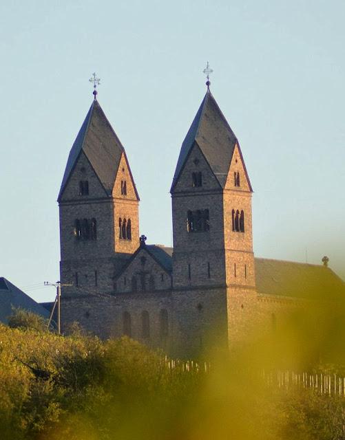 Abadia de Santa Hildegarda em Bingen, Alemanha