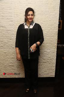 Tamil Actress Meena Latest Stills in Black Dress at TSR TV9 Awards Press Meet  0169.JPG