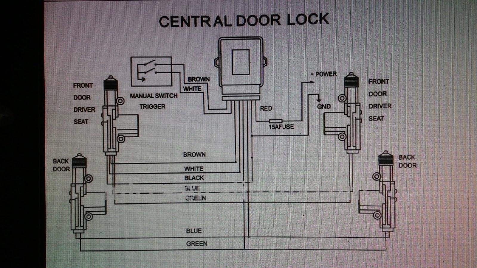 kancil central lock wiring diagram