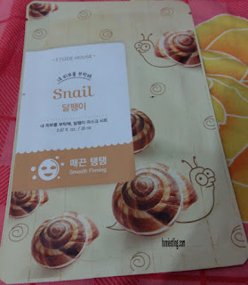 Etude House sheet mask varian Snail