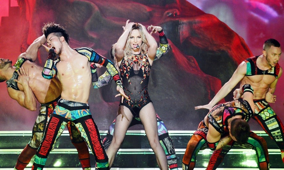 Show Britney Spears  Las Vegas