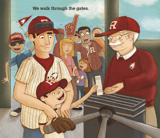 sample page #1 from bookcover of GOODNIGHT BASEBALL  by Michael Dahl