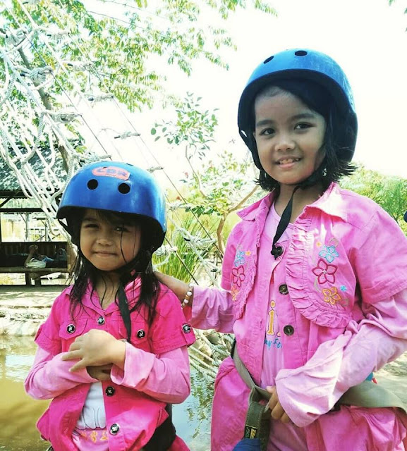 Flying Fox Wisata Keluarga Banyumili Saltiga