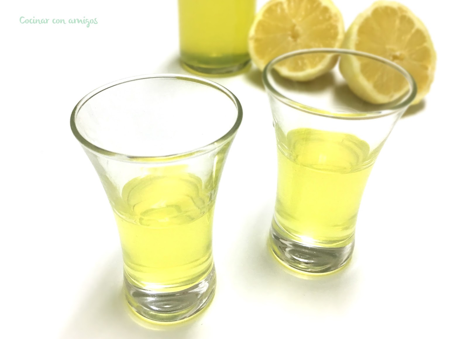 Limoncello casero
