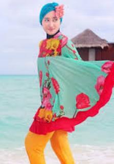 model baju muslim untuk liburan