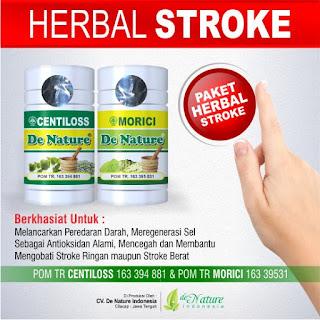 Obat herbal stroke BPOM, Obat stroke terdaftar BPOM, Obat herbal stroke