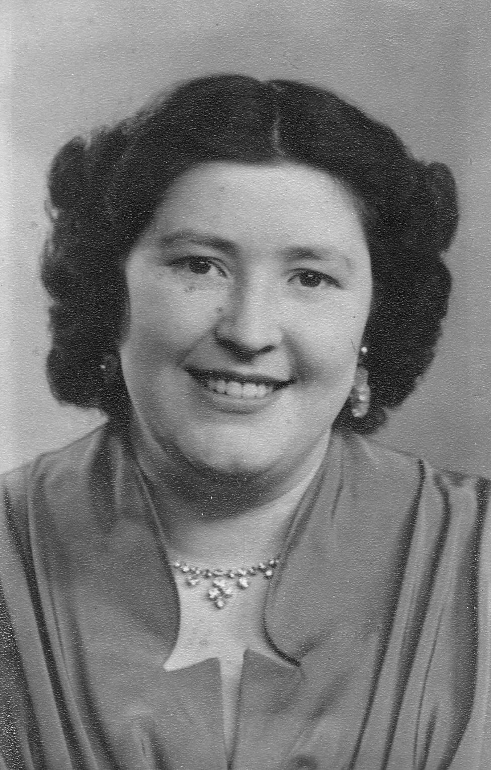 Mildred Devall 1929-2013 RIP.