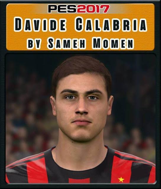 Davide Calabria Face PES 2017
