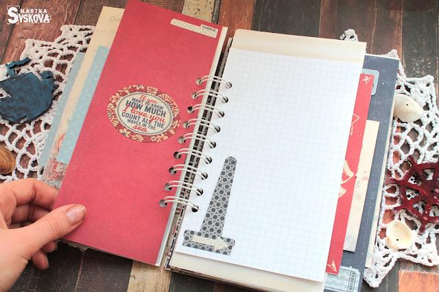 @marinasyskova #scrapbooking #travelbook #tutorial #authentique #scrap