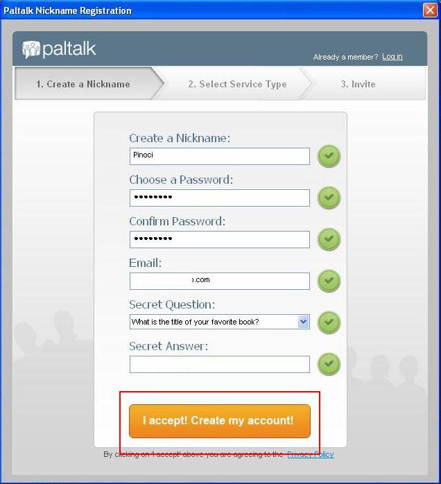 Paltalk Live Chat Register