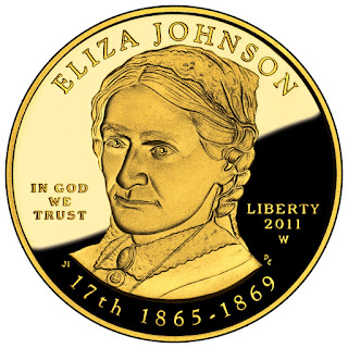 US Gold Coins Eliza Johnson 10 Dollars First Spouse Gold Coin