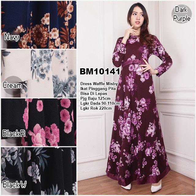 Bursa Grosir Busana Muslim Tanah Abang Bm10141 Long Dress
