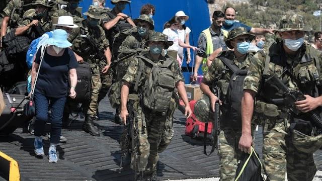 Οργιάζουν τα τουρκικά ΜΜΕ για τους Έλληνες Εθνοφύλακες στο Καστελόριζο (ΦΩΤΟ)