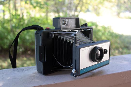 Polaroid Automatik Land Kamera 210 Foto & Camcorder
