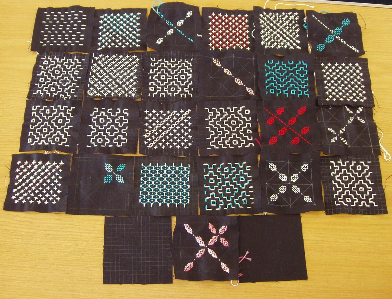 Sashiko And Other Stitching Sashiko Workshops In