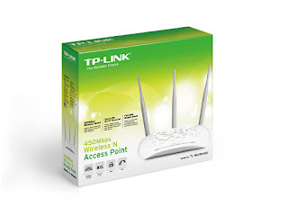 ضبط اعدادات اكسز Configurar Access point TP LINK TL-WA901ND v4