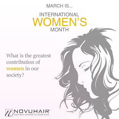 Novuhair, International Women's Month